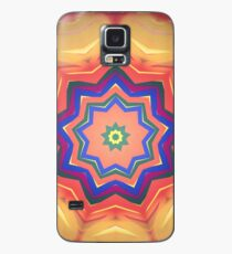 Here Comes the Sun Mandala Art - Yoga Lover Gift Case/Skin for Samsung Galaxy