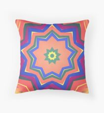 Here Comes the Sun Mandala Art - Yoga Lover Gift Throw Pillow