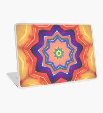 Here Comes the Sun Mandala Art - Yoga Lover Gift Laptop Skin