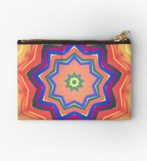 Here Comes the Sun Mandala Art - Yoga Lover Gift Studio Pouch