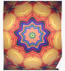 Here Comes the Sun Mandala Art - Yoga Lover Gift Poster