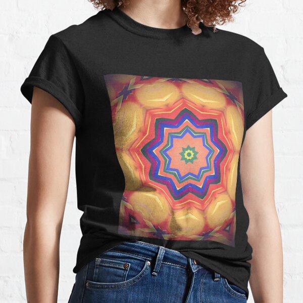 Here Comes the Sun Mandala Art - Yoga Lover Gift Classic T-Shirt