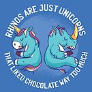 Rhinos are Just Unicorns That Liked Chocolate Way Too Much by angelandspot