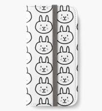 Hase iPhone Flip-Case/Hülle/Skin