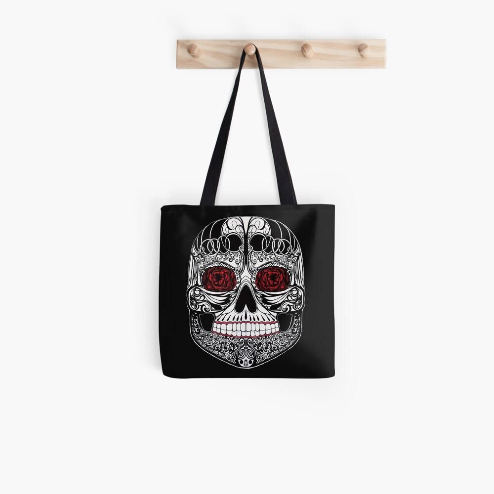 Monika's Sugar Skull Tote Bag
