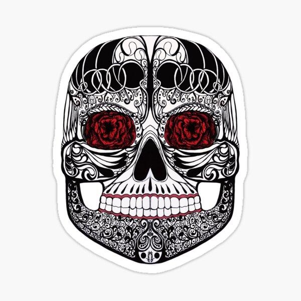 Monika's Sugar Skull Sticker