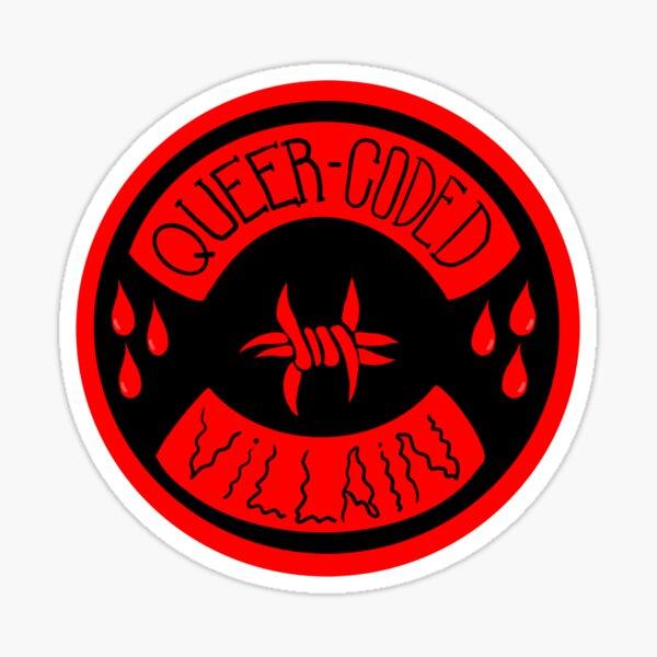 queer-coded villain Sticker