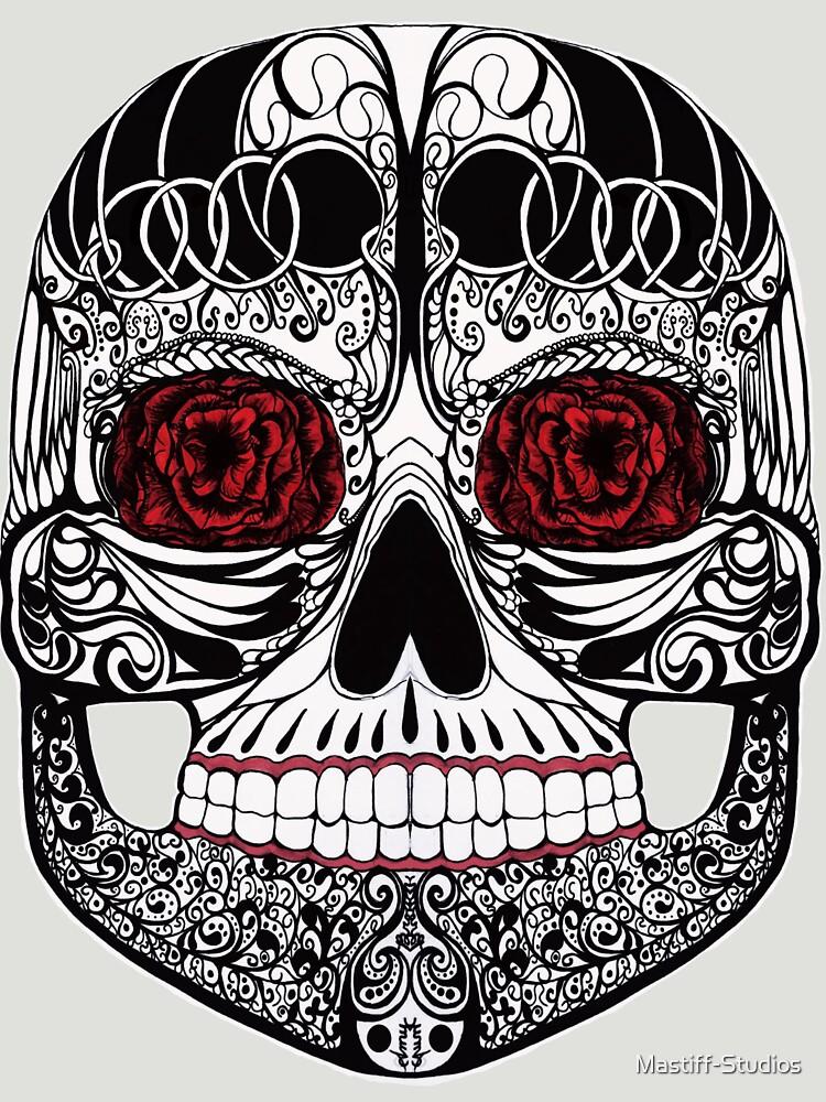 Monika's Sugar Skull by Mastiff-Studios