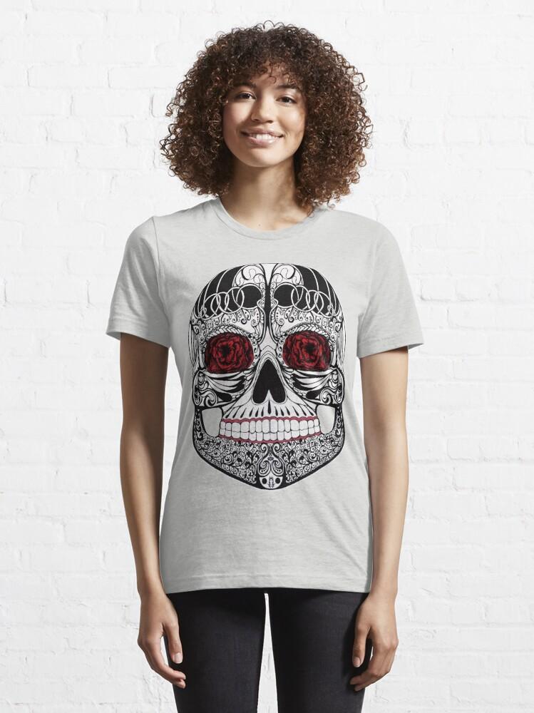 Alternate view of Monika's Sugar Skull Essential T-Shirt