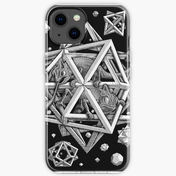 M.C. Escher - Stars iPhone Soft Case