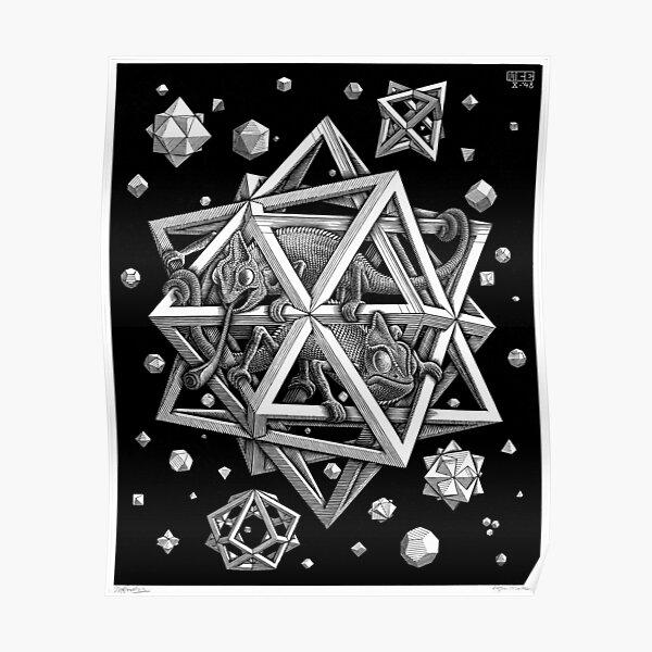 M.C. Escher - Stars Poster
