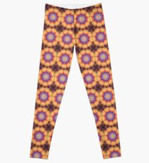 Here Comes the Sun Mandala Art - Yoga Lover Gift Leggings