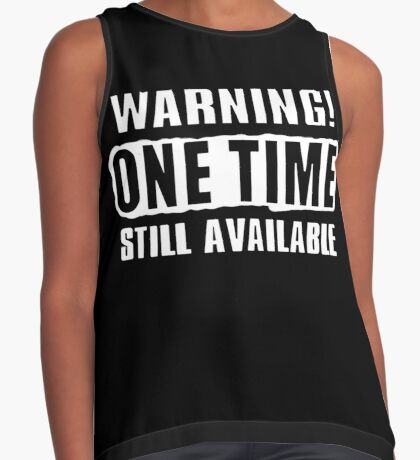 One Time! Sleeveless Top