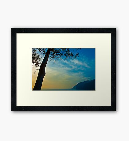 The cliffs at Los Gigantes, Tenerife Framed Print