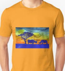 Rhinos from Africa T-Shirt