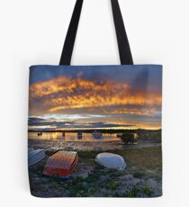 Myall River Sunset Tote Bag