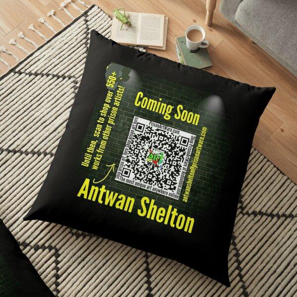PrisonArtWare.com welcomes Antwan Shelton  Floor Pillow
