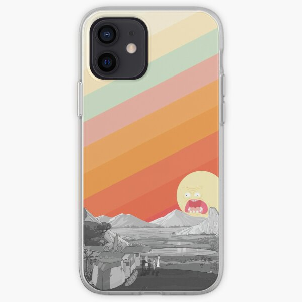 Screaming Sun (Rick & Morty) iPhone Soft Case