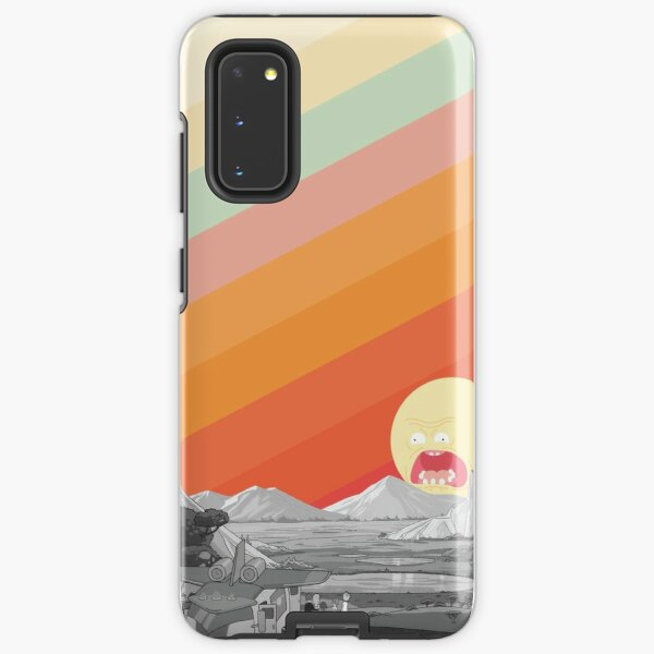 Screaming Sun (Rick & Morty) Samsung Galaxy Tough Case