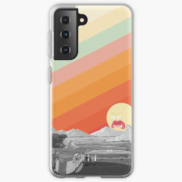 Screaming Sun (Rick & Morty) Samsung Galaxy Soft Case