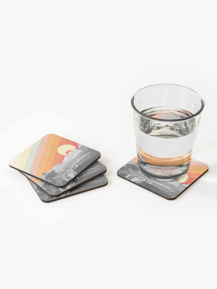Alternate view of Screaming Sun (Rick & Morty) Coasters (Set of 4)