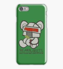 Bears Beets Battlestar Galactica iPhone Case/Skin