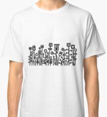 Cyber Garden - Black Classic T-Shirt
