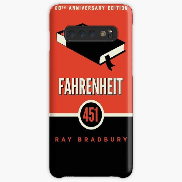 fahrenheit 451 by ray bradbury - book cover Samsung Galaxy Snap Case