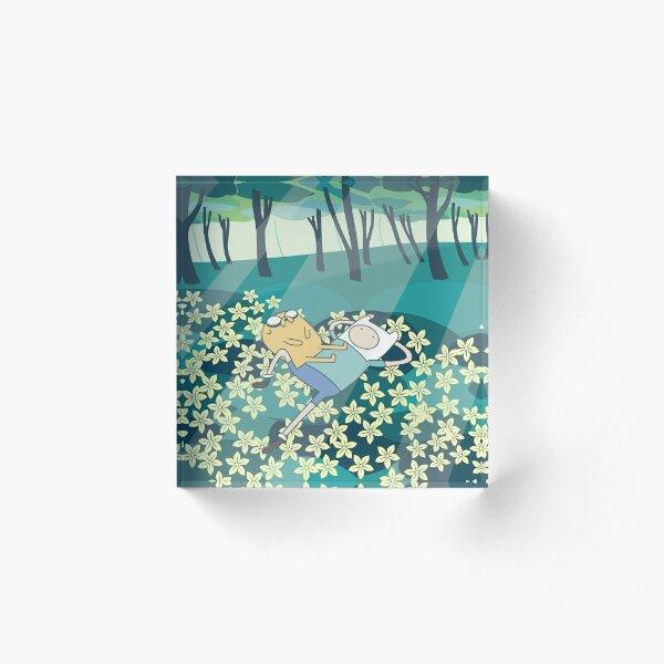 Field of Flowers (Adventure Time) Acrylic Block