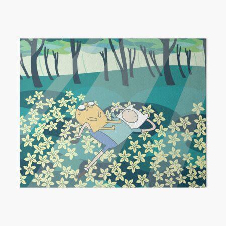Field of Flowers (Adventure Time) Art Board Print