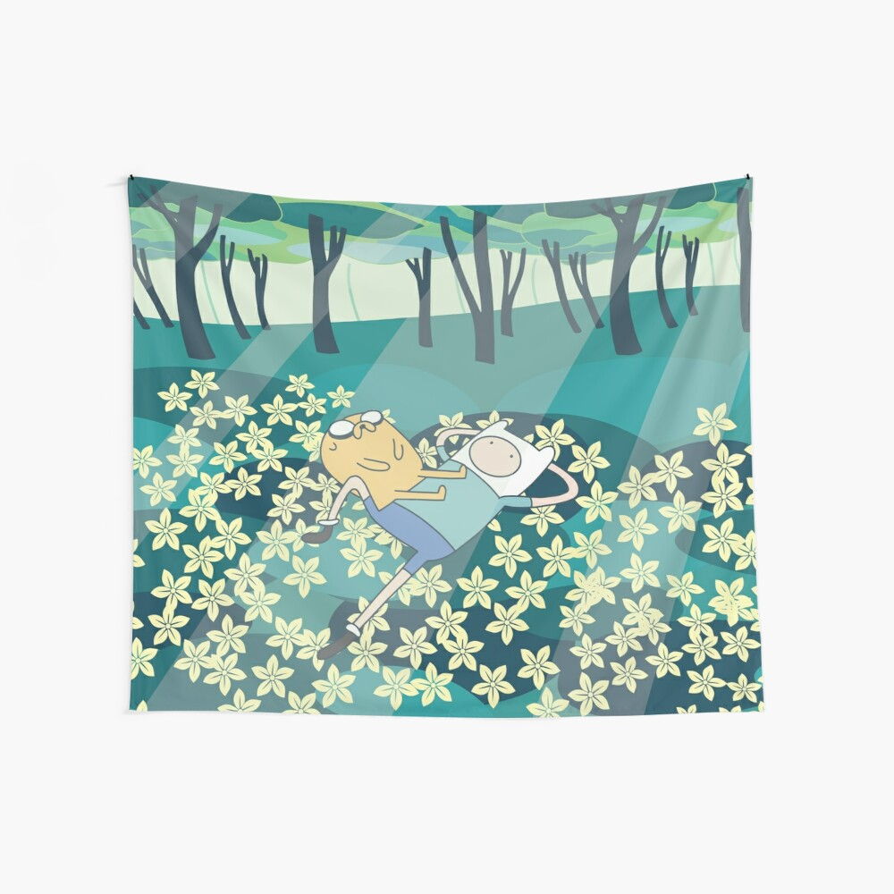 Field of Flowers (Adventure Time) Wall Tapestry