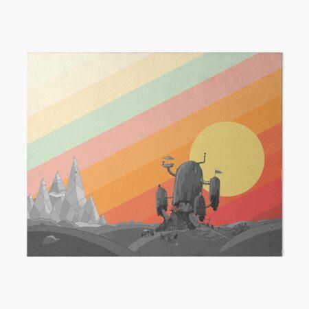 Land Of Ooo (Adventure Time) Art Board Print