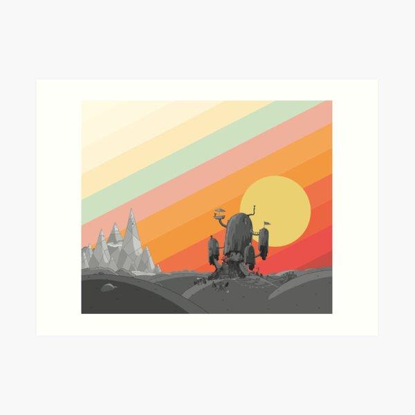 Land Of Ooo (Hora de aventura) Lámina artística