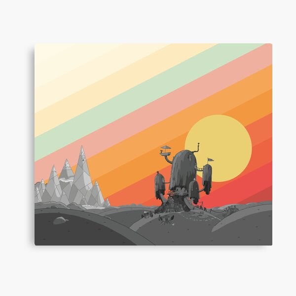 Land Of Ooo (Adventure Time) Canvas Print