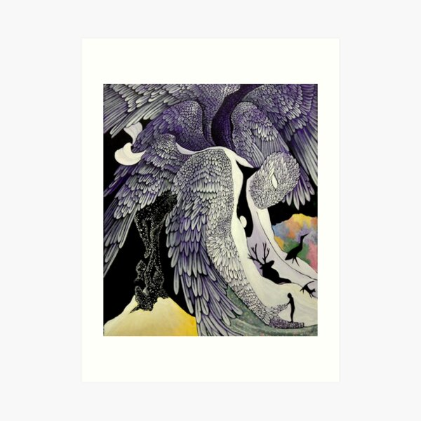 Threshold Angel Art Print