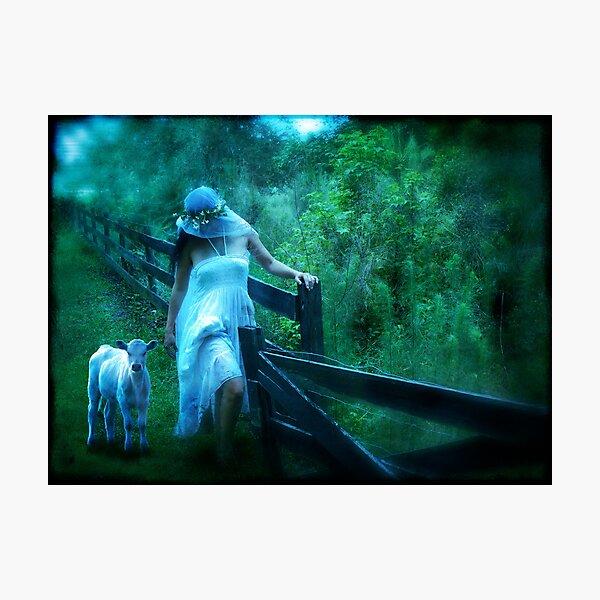 Shepherdess   Photographic Print