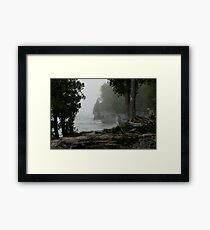 Foggy Morning in Door County Framed Print