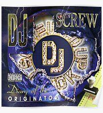 DJ-Schraube Poster