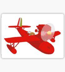 Porco Rosso Sticker