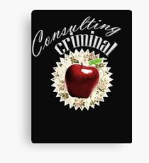 Consulting Criminal Canvas Print