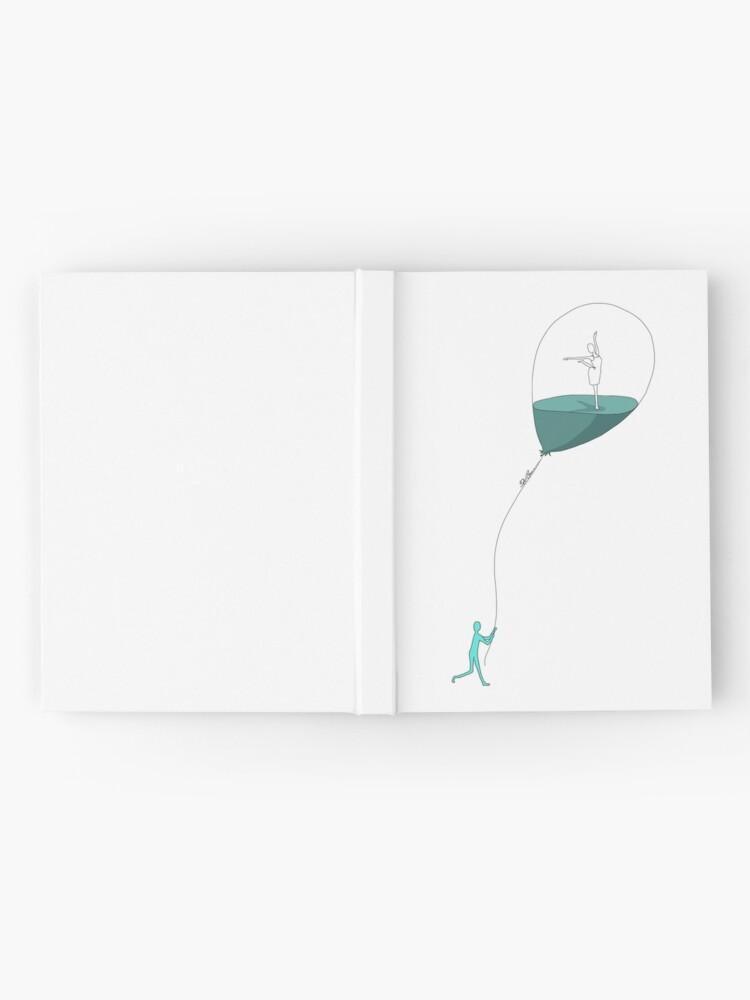 Alternative Ansicht von Dancing memories Notizbuch