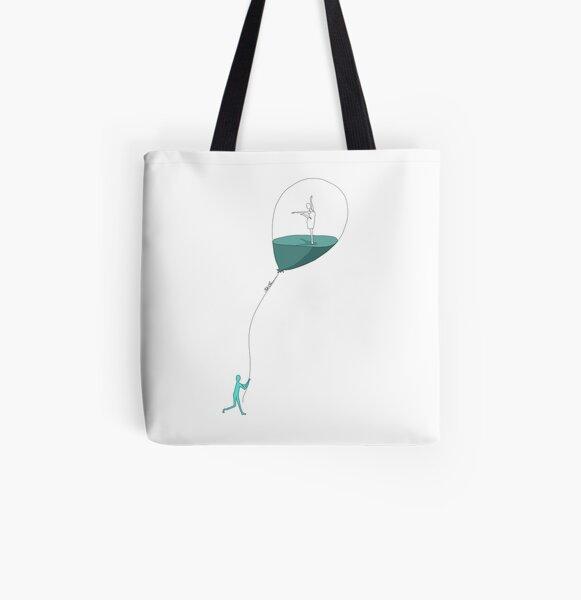 Dancing memories Allover-Print Tote Bag