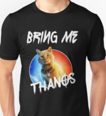 Goose-The-Flerken-Cat-Bring-Me-Thanos Slim Fit T-Shirt