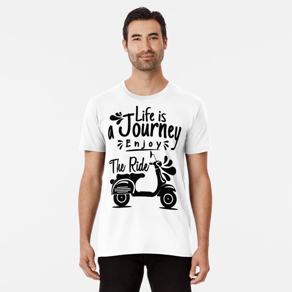 Viaje de la vida Camiseta premium