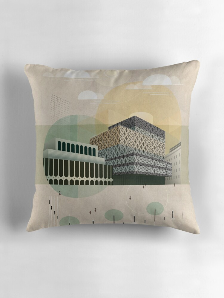 Square Throw Pillow Size :