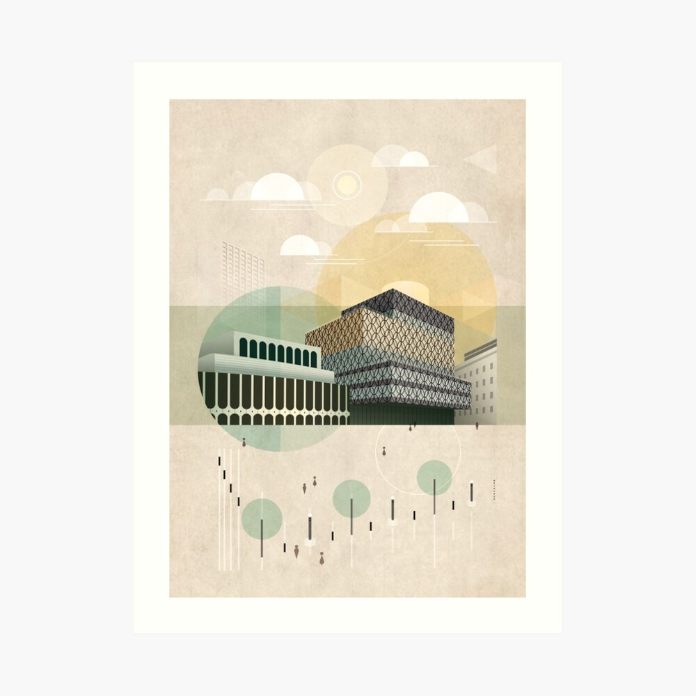 Centenary Square Art Print