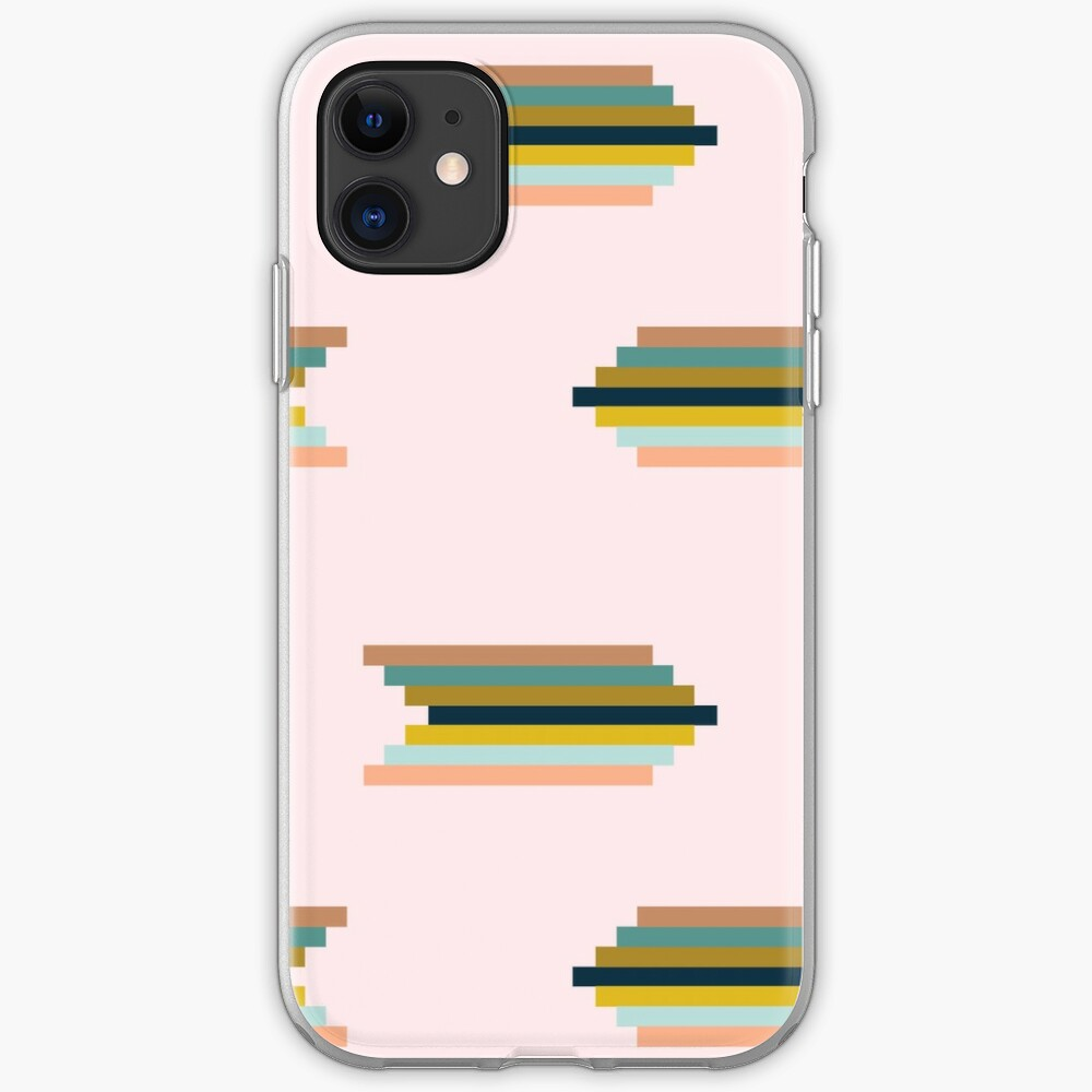 Art Deco Rainbow iPhone Soft Case