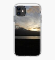 Sunset on the Road Back iPhone Case