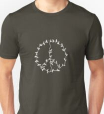 peace (on dark) Unisex T-Shirt