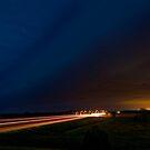 Nebraska Shelf Cloud over Freeway by MattGranz